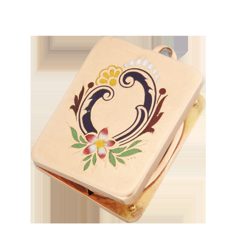 Антикварный медальон.