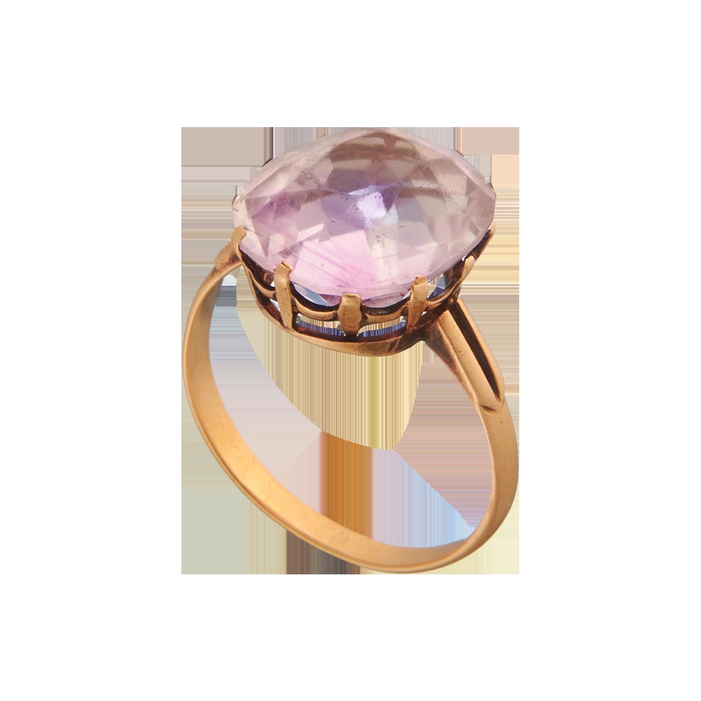 Антикварное кольцо. Золото 56 пр.