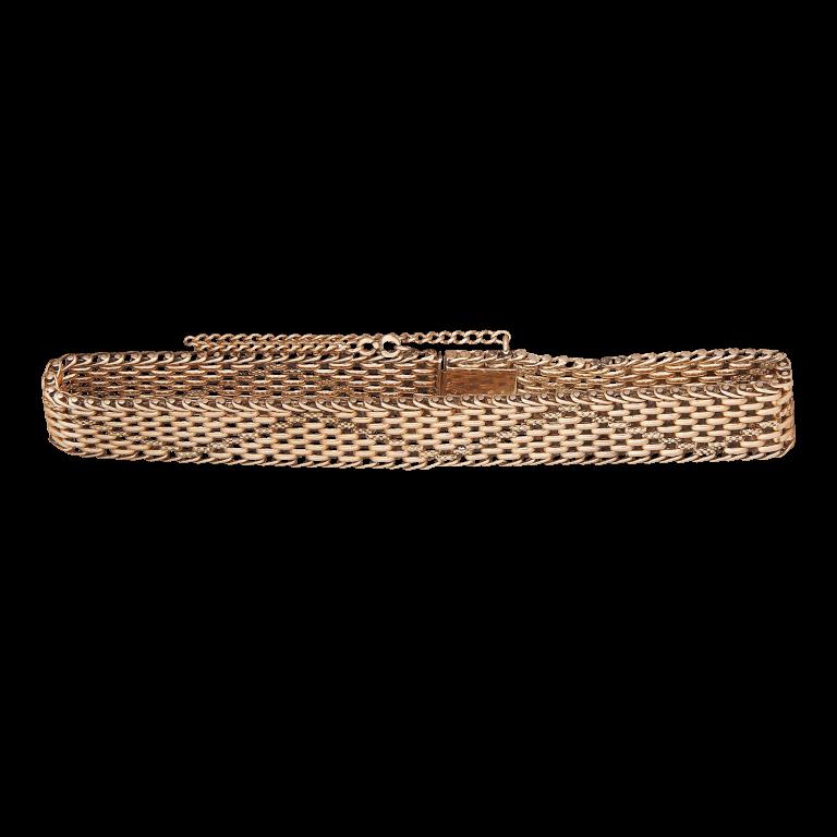 Антикварный браслет. Золото 56 пр.