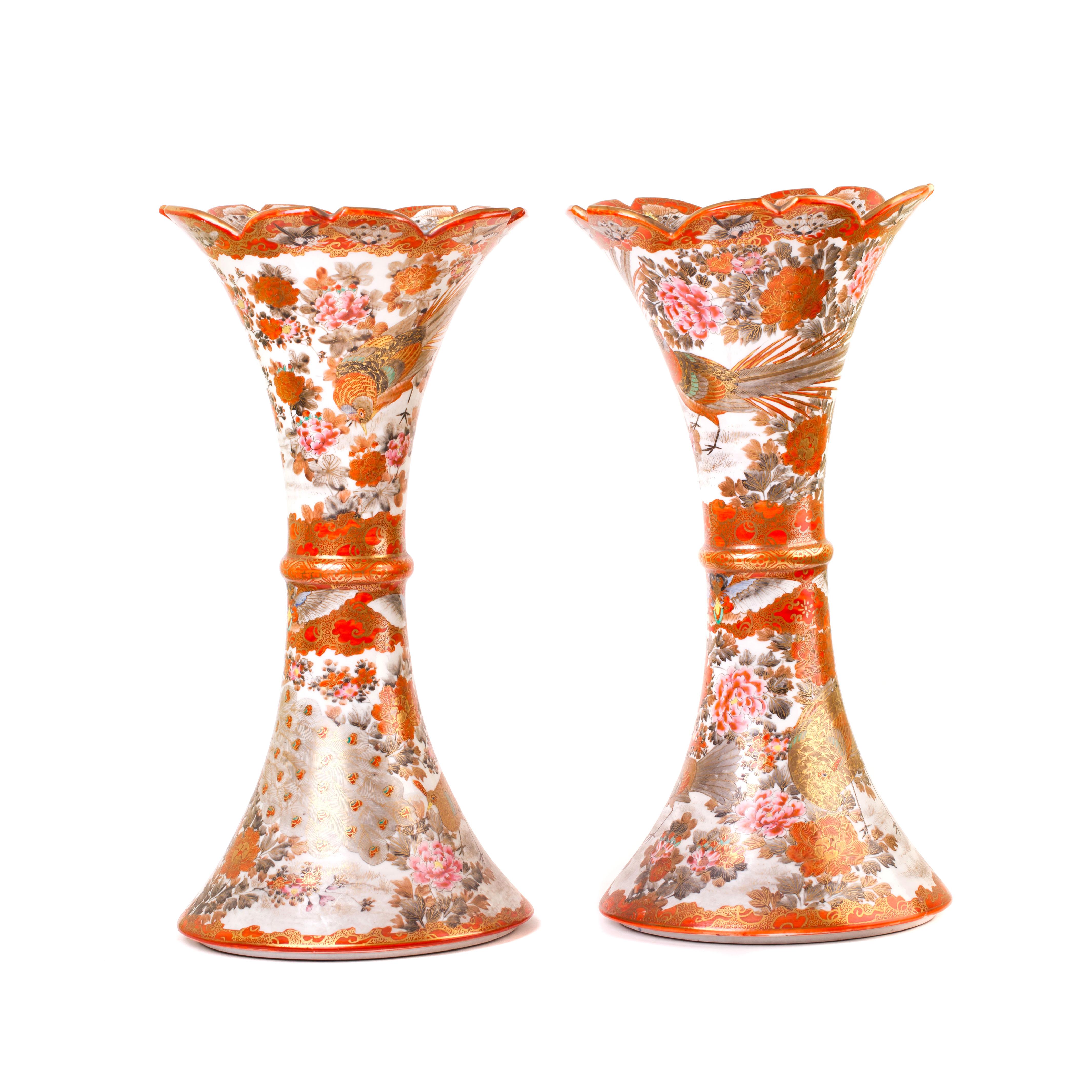 Парные вазы. Япония.